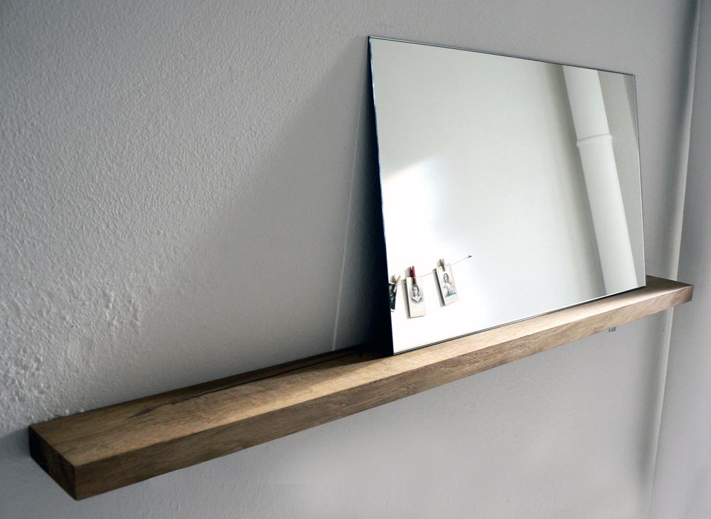 Spiegel Mit Ablage. Fabulous Spiegel Ablage Holz
